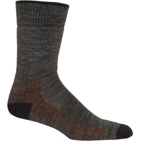 Icebreaker Hike Medium Crew Socks Men gritstone heather/013